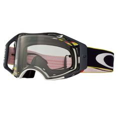 ae0028e2c72 Oakley Airbrake MX Off-Road Goggles - Pinned GSR Clear Lens - Extreme Supply