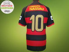 SPORT CLUB RECIFE (Brazil) HOME 2007-2008 #10 (L) LOTTO Football Shirts Jersey #Lotto #SPORTCLUBRECIFE