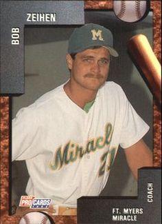 1992 Fleer/ProCards #2761 Bob Zeihen Front