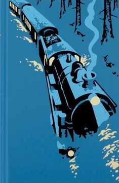 Agatha Christie, Murder on the Orient Express.The Folio Society Illustration by Andrew Davidson. Agatha Christie, Hercule Poirot, Orient Express, Book Cover Art, Book Art, Detective, Train Illustration, Train Art, Vintage Travel Posters