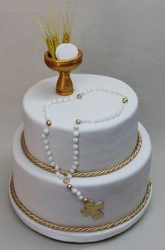 Communion Cake by Violeta Glace