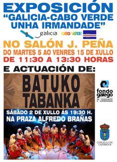 CORES DE CAMBADOS: EXPOSICIÓN E ACTUACIÓN DE BATUKO TABANKA