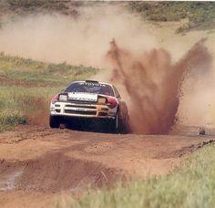 Toyota Celica GT4 rally car