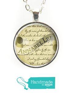 Annabel Lee Necklace, Edgar Allan Poe Gothic Jewelry from CellsDividing http://www.amazon.com/dp/B015X5FIVW/ref=hnd_sw_r_pi_dp_X8Ivwb00ZJ7K6 #handmadeatamazon
