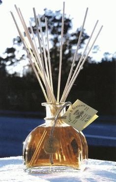 Instruções de como fazer Difusores de aromas, com sugestões de aromas antiestresse