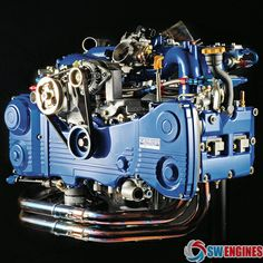 #SWEngines Subaru Oil System Engine Block. Subaru Oil System Engine Block