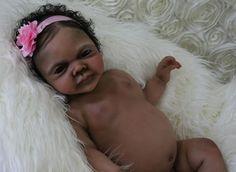 Beautiful Reborn full bodied solid Silicone Baby girl Doll Ashlynn by Kristin E.