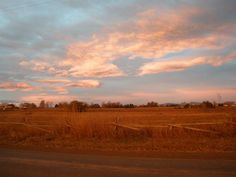 Sunrise view  in Fort Collins