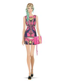 Styled with: Rebecca Minkoff, Mara Hoffman, Karen London, The Harbinger Co. Create your own look with Covet Fashion Fashion Games, Fashion Outfits, Womens Fashion, Fashion Trends, Casual Work Outfits, Work Casual, Yosi Samra, Love Illustration, Covet Fashion