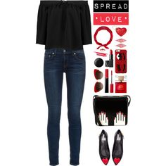 How To Wear Spread Love Outfit Idea 2017 - Fashion Trends Ready To Wear For Plus Size, Curvy Women Over 20, 30, 40, 50