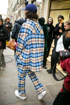 Street style at Milan Fashion Week Men's Fall 2018