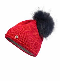 KNIT HAT CARRIE in Red for Women | BOGNER USA