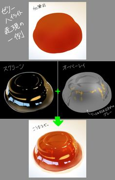 I want jelly! Digital Painting Tutorials, Digital Art Tutorial, Art Tutorials, Food Drawing, Drawing Skills, Drawing Techniques, Coloring Tutorial, Poses References, Painting Process