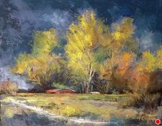 Approaching Storm by Margi Lucena Pastel ~ 11 x 14