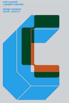 wim crouwel, via graphic design layout, identity systems and great type lock-ups.