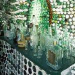 05 Taberna con botellas de vidrio - Casas con botellas Construcciones ecologicas