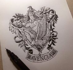 Harry Potter raven claw tattoo idea (-: