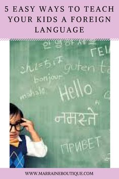 8 Pretty Easy Ways You and Your Child Can Learn a New Language Learn A New Language, Your Child, Teaching, Boutique, News, Children, Pretty, Blog, Toddlers