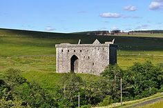 Elliott Clan Castle in Scotland