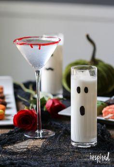 Halloween Cocktails | 10 Quick and Easy Fall Decorating Ideas via inspiredbycharm.com