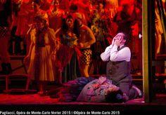 Canio after stabbing Nedda @OMC 'Pagilacci' at the Opera de Monte-Carlo - Marcelo Alvarez & Maria Jose Siri