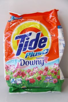 4 Tide Plus Downy Powder Laundry Detergent 14 oz. (400 g) each Total 16 Loads ♫❤ #Tide