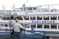 Fahrt mit der MS Karlsruhe, make a boat trip with the MS Karlsruhe
