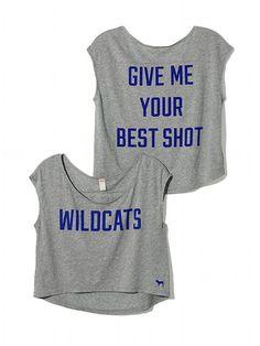 PINK University of Kentucky Basketball Tee #VictoriasSecret http://www.victoriassecret.com/sale/pink/university-of-kentucky-basketball-tee-pink?ProductID=106468=OLS?cm_mmc=pinterest-_-product-_-x-_-x