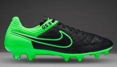 detailed look d8bb9 9147d Nike Tiempo Legend V FG - Black Black-Green Strike-Green Strike