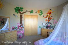 DIY Nursery Wall Painting