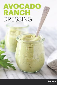 Add a cool touch of flavor to your meal with Avocado Ranch Dressing