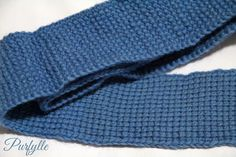 plain Tunisian crochet