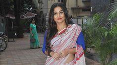 Had no expectation to #brand #myself as caretaker of #saree: #Vidya #Balan - See