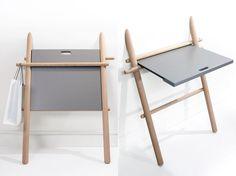 Smart Design....Laurent Coriot: Appunto, tavolo da parete per Eno