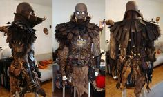 Shaman orc armor by silvercrow.deviantart.com on @deviantART
