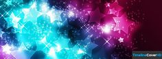 Abstract Stars Timeline Cover 850x315 Facebook Covers - Timeline Cover HD