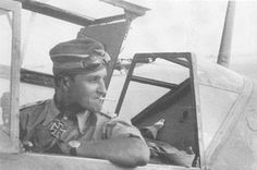 Marseille in the cockpit Luftwaffe, Air Fighter, Fighter Pilot, Afrika Korps, German Army, Military History, World War Two, Wwii, Techno