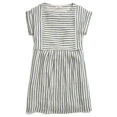 Madewell  Blanca Dress In Stripe