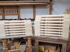 Our Victorian pattern on spindles. Victorian Pattern, Wood, House, Madeira, Woodwind Instrument, Haus, Wood Planks, Trees, Wood Illustrations