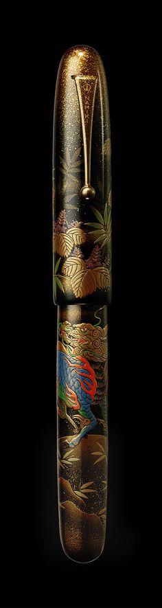 Namiki Emperor maki-e fountain pen - Kirin