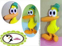 Boneco do Pato - Tema Pocoyo
