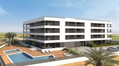 Apartment La Mata with 2 bedrooms, 2 bathrooms. Large terraces and panoramic Mar. Storage rooms and underground garages.