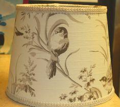 Custom lamp shade metallic lamp shade marbled lampshade custom french country bird lamp shade by stylishshades on etsy aloadofball Choice Image