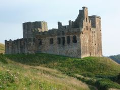 Crichton Castle, Scotland - a ruined castle situated at the head of the River Tyne, late 14th century John de Crichton (d.1406) built a tower house here as his family residence. Lordly residence of the Crichtons and later home to the Earls of Bothwell.