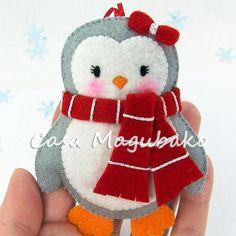 PDF Pattern Penguin Felt Pattern Felt Penguin Sewing