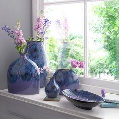 Buy Poole Pottery Jasmine Manhattan Vase, H26cm Online at johnlewis.com