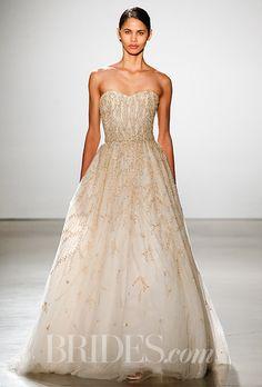 marchesa ball gown crochet wedding - Google Search