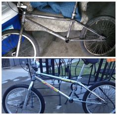 Bar Keepers Friend saved this bicycle.