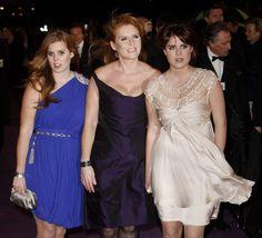 A duquesa de York e filhas Princesas nova Hollywood - Foto 1