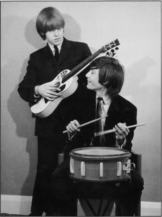 Brian Jones and Charlie Watts.